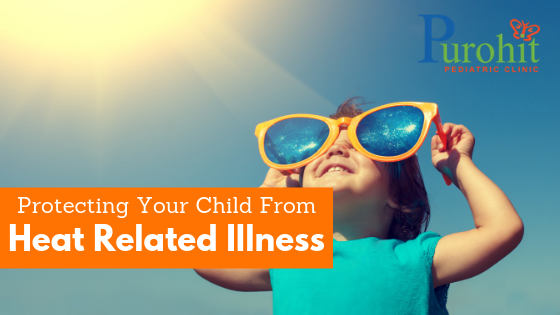 Protecting Your Child From Heat Related Illness - Blog Header